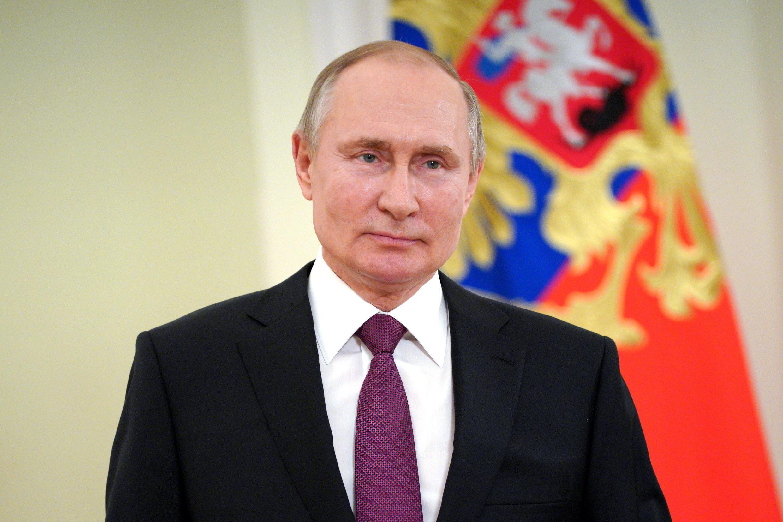 الرئيس الروسي فلاديمير بوتين بتاريخ 27 آذار/مارس 2021 في موسكو