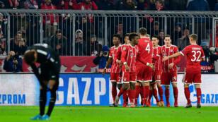 Le PSG n'a rien pu faire face au Bayern Munich, mardi 5 décembre.