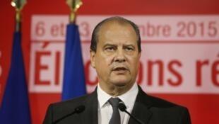Le premier secrétaire du parti socialiste, Jean-Christophe Cambadélis, en décembre 2015.