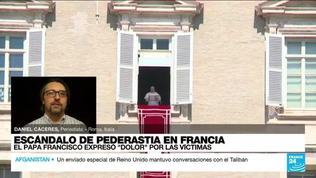 """2021-10-05 22:33 Informe desde Roma: el papa Francisco expresó """"dolor"""" por las víctimas de pederastia"""