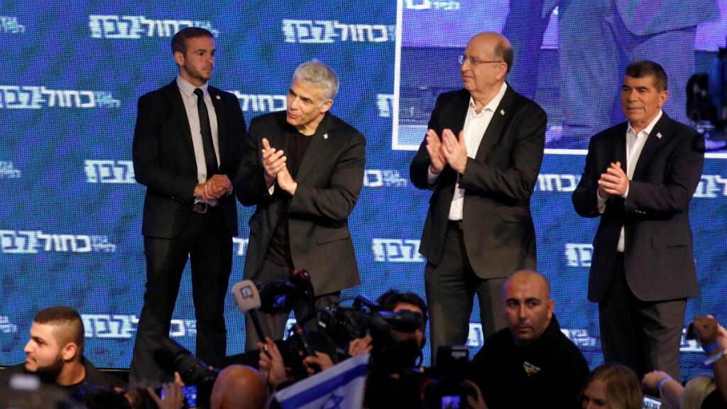 """Yair Lapid (centro) alertó que como partido harán """"la vida de Likud un infierno"""""""