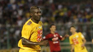 Le Camerounais Albert Ebossé, tué le 23 août au cours d'un match de championnat algérien.