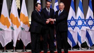 اتفاق مد خط الغاز إيست ميد بيد بين قبرص واليونان وإسرائيل