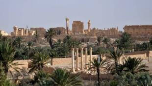 آثار تاريخية في مدينة تدمر