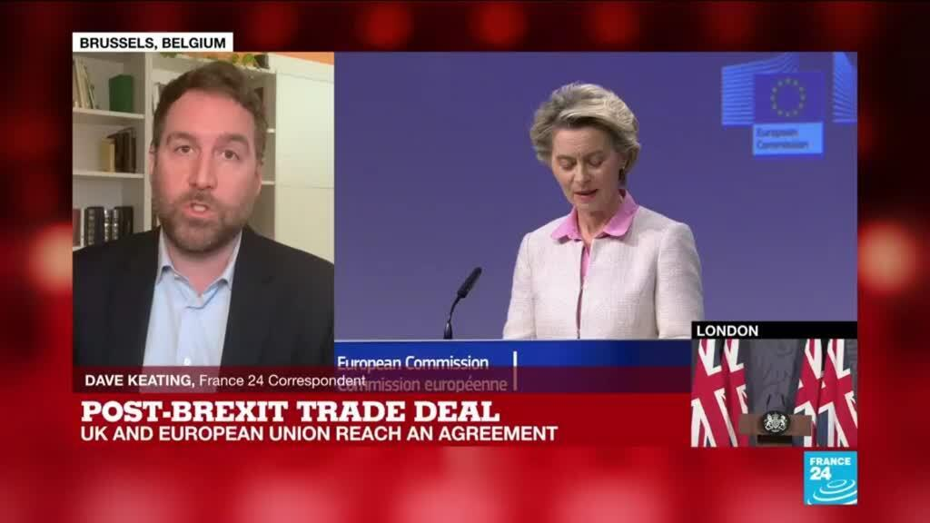 2020-12-24 16:18 'It is mostly what we were expecting': EU, UK reach an agreement on Brexit