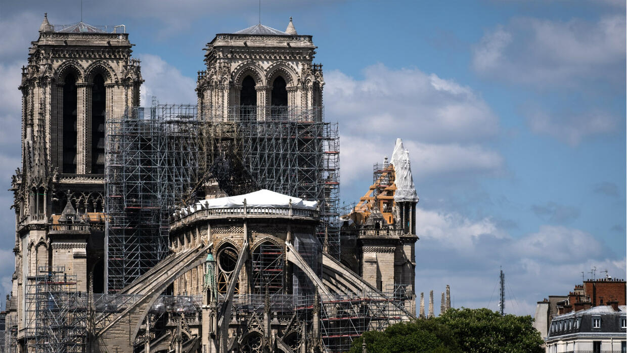 Notre Dame To Celebrate First Mass Since Fire Shuttered Cathedral