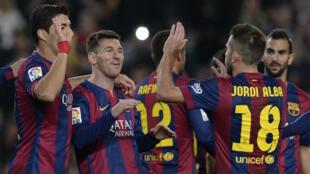 """Lionel Messi fait partie des joueurs issus de la """"Masia"""", le centre de formation du club."""
