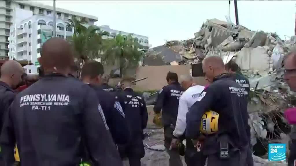 2021-07-08 11:06 Immeuble effondré en Floride : les secours mettent fin aux recherches de survivants