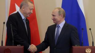 Erdogan Putin Sotchi 2019