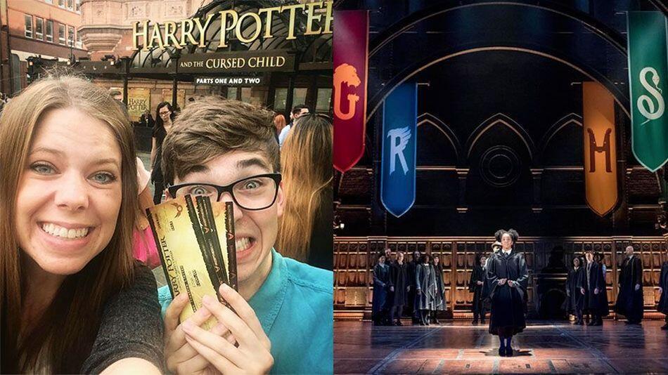"""La première répétition publique de la pièce """"Harry Potter et l'Enfant Maudit"""" a ravi les spectateurs à Londres, le 7 juin 2016."""
