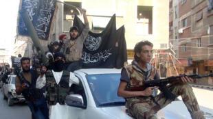 مسلحون من جبهة النصرة