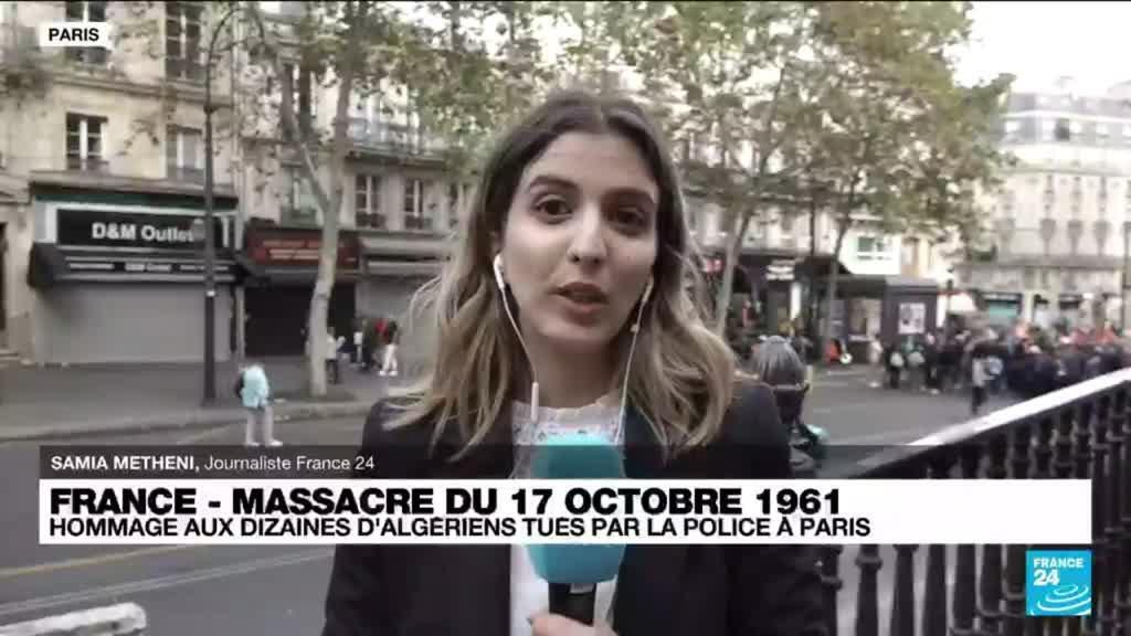 2021-10-17 16:02 17 octobre 1961 : des centaines de manifestants dans Paris, 60 ans après