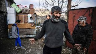 The district of Kalbajar is being handed over to Azerbaijan by Armenian separatists as part of a peace deal