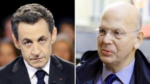 """Selon l'ex-conseiller de Nicolas Sarkozy, Patrick Buisson, l'ancien président de la République aurait affirmé que """"les valeurs du Front national sont celles de tous les Français""""."""