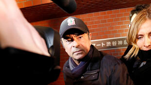 Carlos Ghosn japon mars 2019