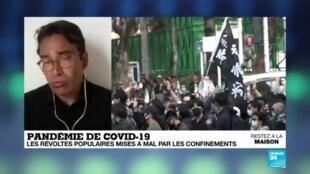 2020-04-21 13:09 Pandémie de Covid-19 : les révoltes populaires mises à mal par les confinements
