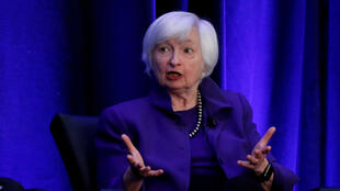 FILE PHOTO: Former Federal Reserve Chair Janet Yellen speaks during a panel discussion at the American Economic Association/Allied Social Science Association (ASSA) 2019 meeting in Atlanta, Georgia, U.S., January 4, 2019.