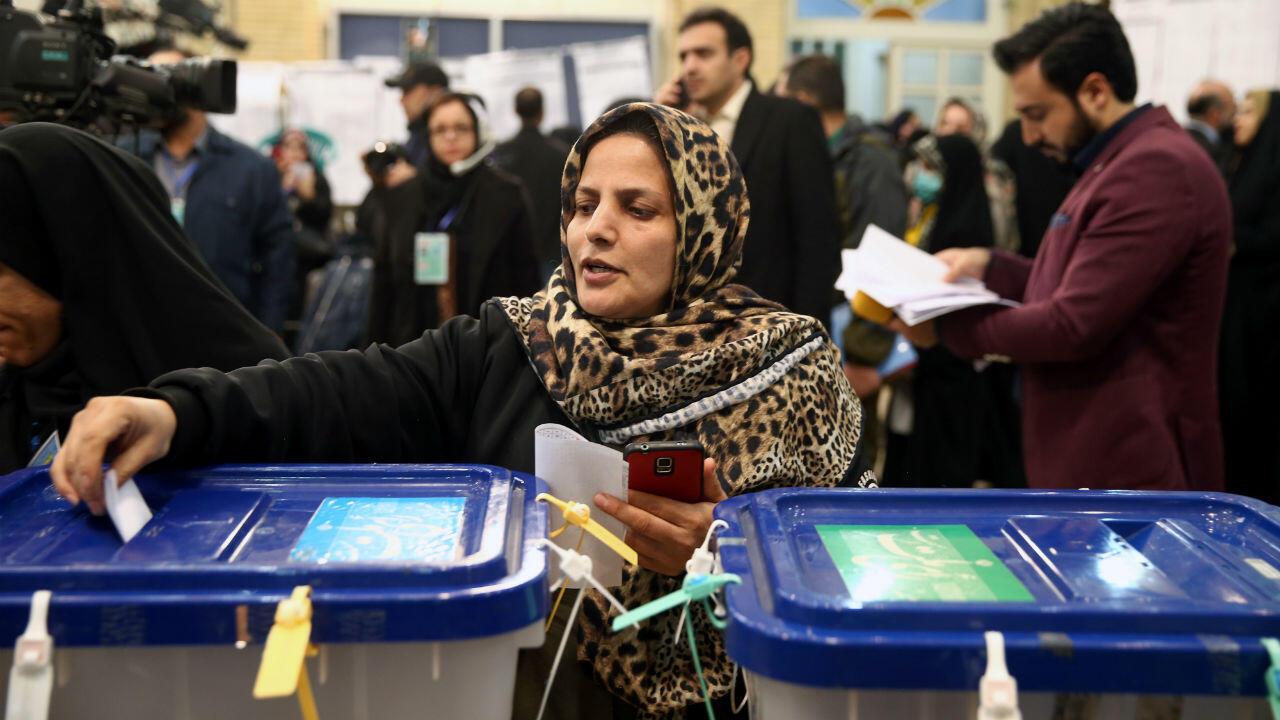 ELECCIONES LEGISLATIVAS IRAN
