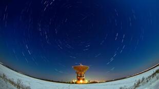 Une pluie de météorites au-dessus de la Russie.