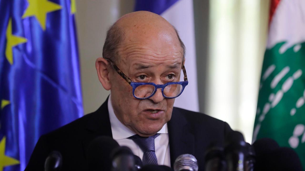 بدأ وزير الخارجية الفرنسي جان إيف لودريان الخميس زيارة إلى لبنان، 22 يوليو/تموز 2020.