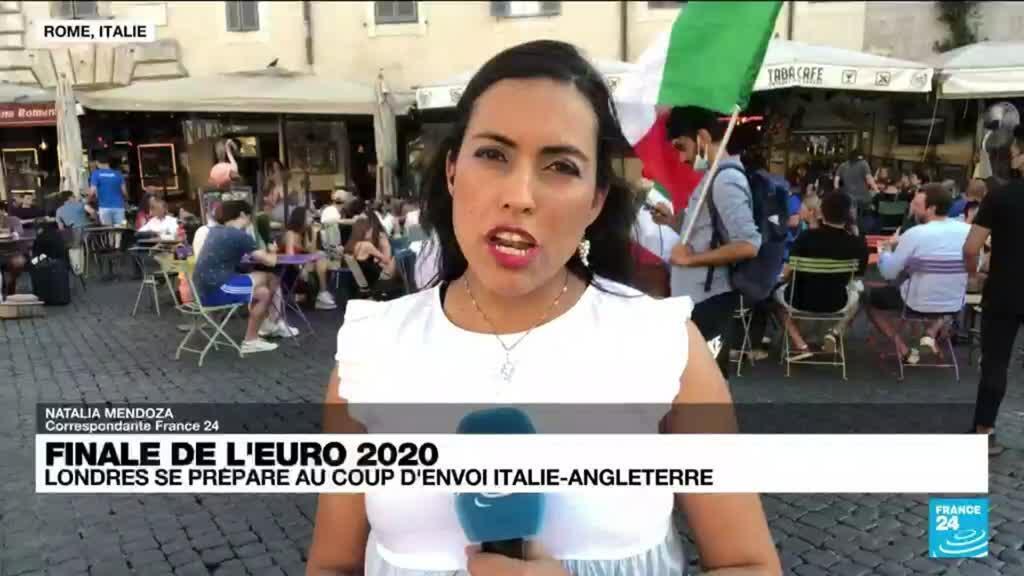 2021-07-11 19:01 Euro-2021 : Rome se prépare au coup d'envoi Italie-Angleterre