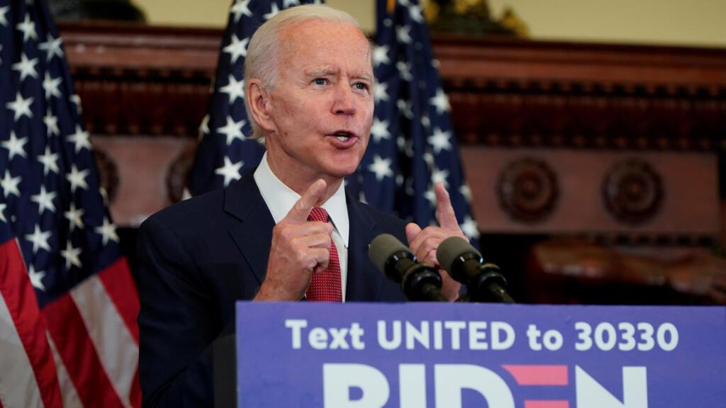 Biden blasts Trump, promises to heal 'racial wounds' in Philadelphia address