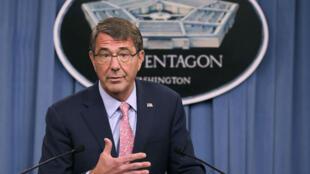 Le secrétaire américain à la Défense, Ashton Carter.