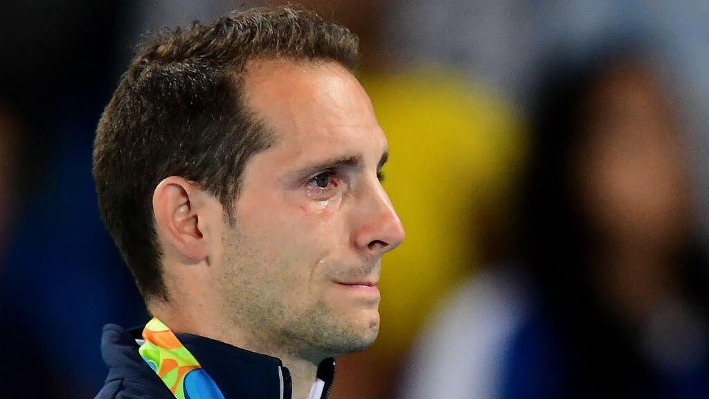 Renaud Lavillenie a subi la bronca du public brésilien, mardi, à Rio.