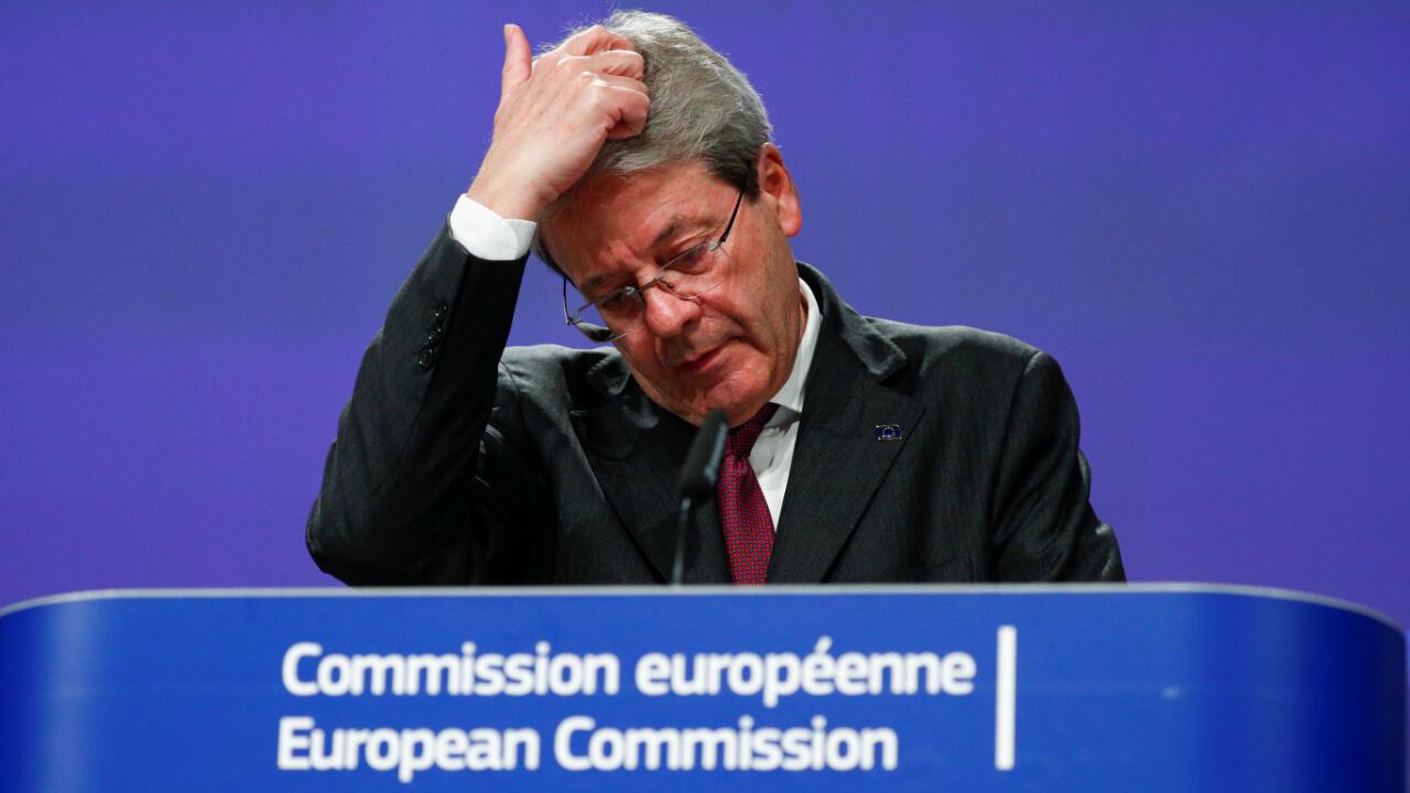 Paolo Gentilone commission européenne économie