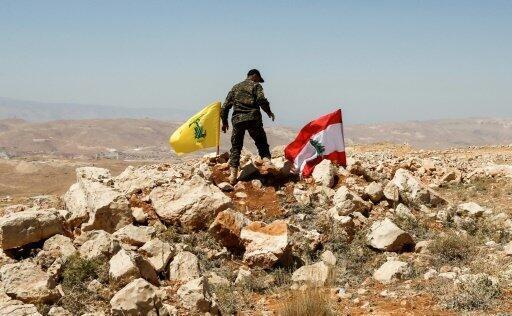 صورة التقطت خلال جولة نظمها حزب الله للإعلاميين في 26 يوليو 2017 في منطقة عرسال