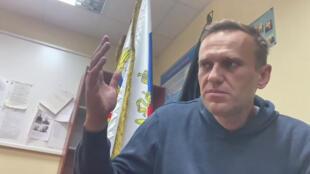 navalny detenido