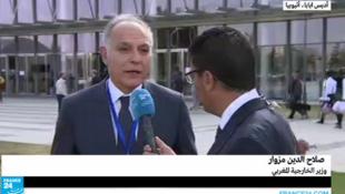 وزيرالخارجية المغربي صلاح الدين مزوار