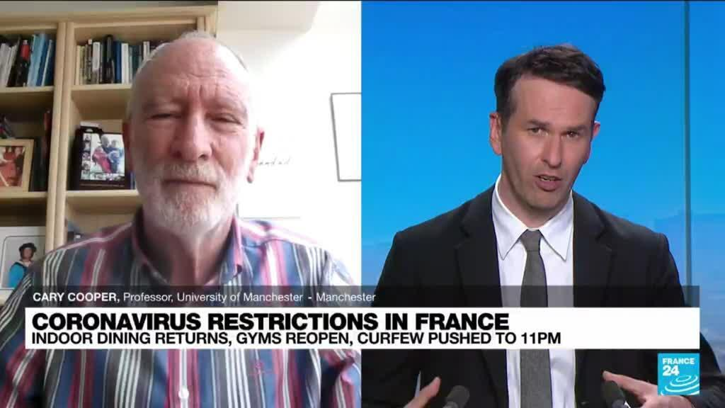 2021-06-09 14:36 covid19 restrictions in France: how to calm post-lockdown anxiety as restrictions ease