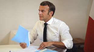 French President Emmanuel Macron (pictured August 11, 2020), who was the first world leader to visit Beirut after the explosion, has taken the lead role in coordinating the international response