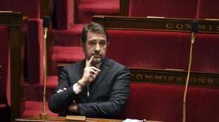L'ex-ministre de l'Intérieur Christophe Castaner, le 7 avril 2020, à l'Assemblée nationale, à Paris