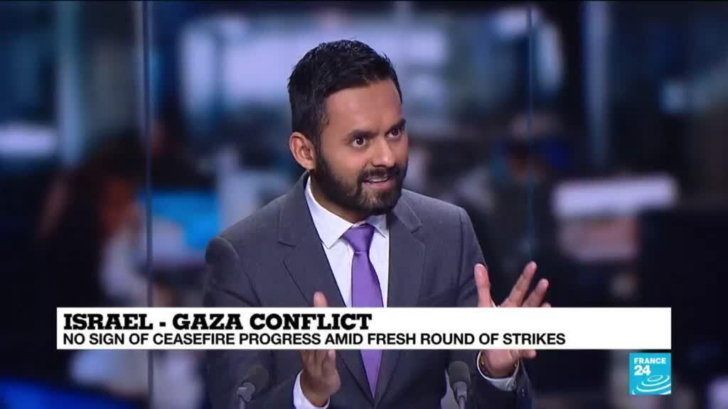 2021-05-20 11:01 Biden calls for 'de-escalation' as Israel and Gaza trade fire