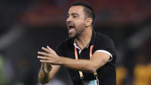 Al-Sadd coach Xavi Hernandez who has tested positive for COVID-19