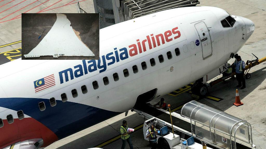 Le débris retrouvé par un touriste américain pourrait être un fragment du stabilisateur du Boeing 777 du vol MH370.