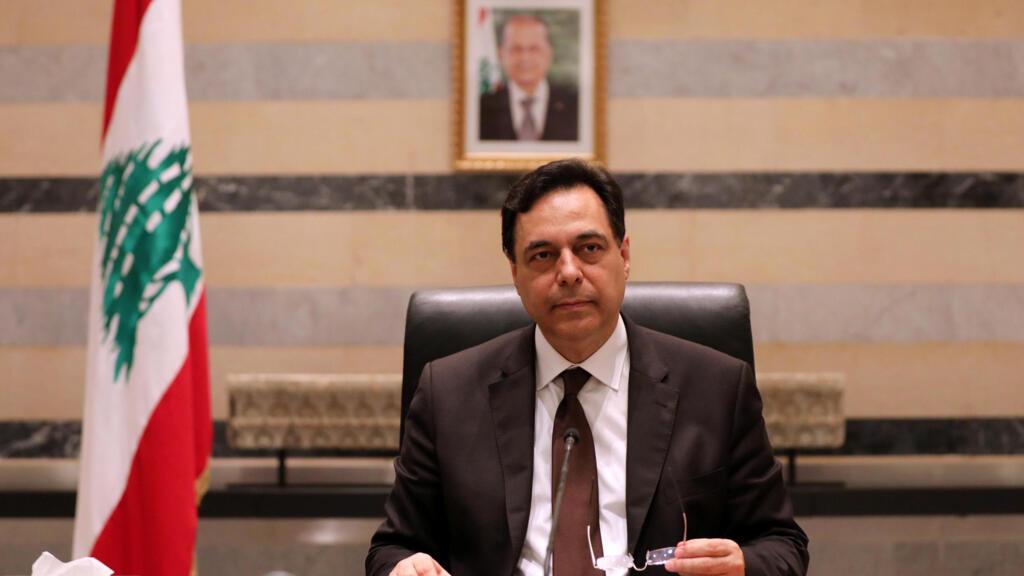 مباشر: خطاب رئيس الوزراء اللبناني حسان دياب بعد الاجتماع مع الحكومة في أعقاب فاجعة انفجار مرفأ بيروت