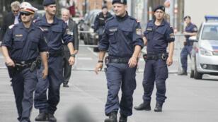 """La police autrichienne évoque une """"situation de menace plus élevée"""" qu'à l'ordinaire."""