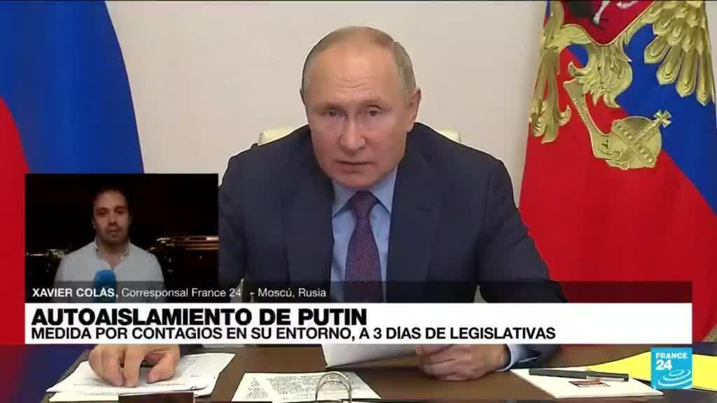2021-09-15 02:11 Informe desde Moscú: Putin se autoaisla ante contagios de Covid-19 en su entorno cercano