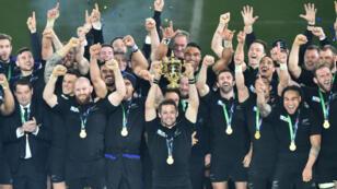 Les All Blacks ont dominé l'Australie, samedi soir, à Twickenham (34-17).