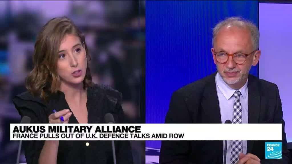 2021-09-20 16:05 Aukus military alliance: Allies try to smooth tensions with France