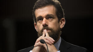 Twitter chief Jack Dorsey, shown in this September 05, 2018 file photo, is teaming up with rap mogul Jay-Z to fund an independent endowment with 500 bitcoin