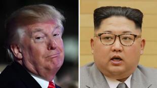 le président américain Donald Trump doit retrouver le dirigeant nord-coréen Kim Jong-un à Singapour le 12 juin