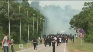 Les manifestants organisent des barrages en Guyane depuis le lundi 20 mars.