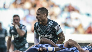 Otago Highlanders' Aaron Smith in action against Northern Bulls on March 7. A week later Super Rugby was suspended because of coronavirus but now the Highlanders are to kick off a New Zealand Super Rugby competition next month against Waikato Chiefs
