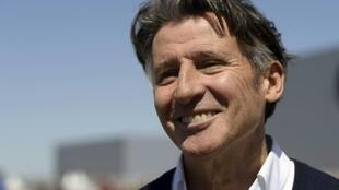 December date: International Association of Athletics Federations (IAAF) President Sebastian Coe gives an interview to AFP in Buenos Aires