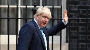 Le chef de la diplomatie britannique arrive au 10 Downing street pour une réunion, le 13 septembre.