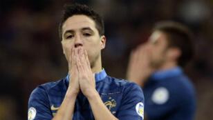Samir Nasri abattu après la défaite 2-0 des Bleus